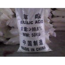 Pó Branco 99,6% Ácido Oxálico para Grau de Indústria