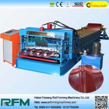 2015 máquina de fabricação de azulejos de aço a cores de venda a quente