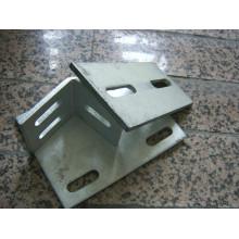 Fornecedores de peças de chapa metálica de perfuração pesada galvanizada