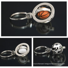 Hot selling factory wholesale tennis ball keychain