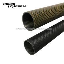 Meilleur prix tube en fibre de carbone module de haute résistance