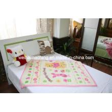 Raschel Mink Acrylic Baby Blanket (NMQ-LBB004)