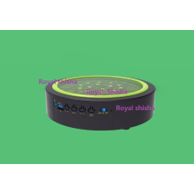 Nuevo diseño 7 pulgadas Bluetooth recargable Shisha Hookah Music LED