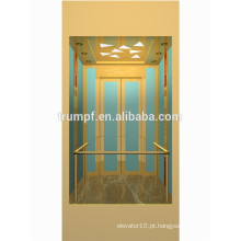 13 pessoas Observação panorâmica de vidro elevador