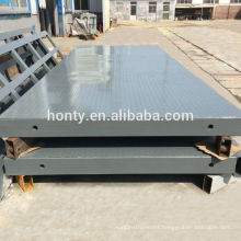 Guide rail cargo loading hydraulic automatic scaffolding lifts platforms from Honty