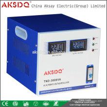 Hot SVC (TND) 1500va ac Servo Controllet Tipo de relé automático Circuito de estabilização de tensão Liushi