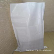White PP Woven Bag For Packing Wheat Bran