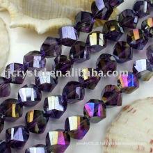 Moda Cristal Torção Beads