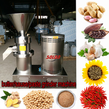 Tahini Butter Grinder Machine Tomato Paste Plant Processing