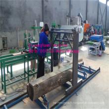 Scierie de chaîne tronçonneuse bois à grande échelle pour la transformation du bois