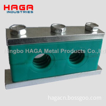 Double Heavy Duty PP Hydraulic Pipe Clamp Tube Clamp