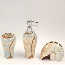 Sanitaryware do banheiro da forma do Seashell, acessórios