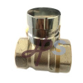 hot forging brass lockable ball valve /brass magnetic lockable ball valve