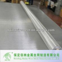 Malla tejida de acero inoxidable flexible