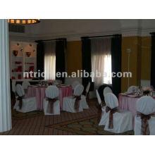 couverture de chaise pour mariage, CTV581 de la couverture de chaise de polyester, tissu épais 200GSM, durable et facile lavable de banquet