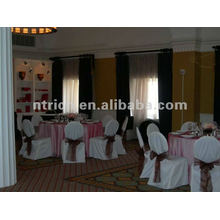banquet chair cover for wedding,CTV581 polyester chair cover,200GSM thick fabric,durable and easy washable