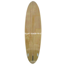 Sup Boards, Surfboard with Wood Veneer, Bamboo Veneer Surface, EPS Core with Glssfiber Cloth and Epoxy Resin, of High Quality Without Delamination