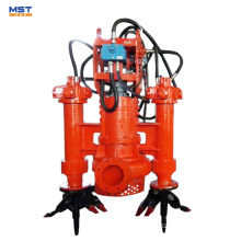 Hydraulic submersible sand slurry pump