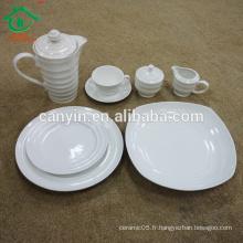 Porcelaine chinoise en céramique vaisselle en céramique set de dîner usine de porcelaine