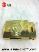 Metal Belt Buckles with Gold Plated