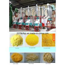 Hot Sale Machines de traitement du maïs à prix réduit, ligne de traitement du maïs à petite échelle