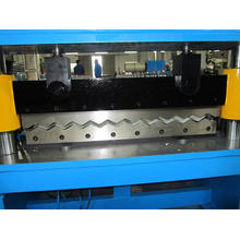 Corrugated Roof Sheet Cold Roll Forming Machine with PLC Panasonic