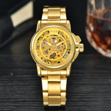 luxury brand golden famous men watch