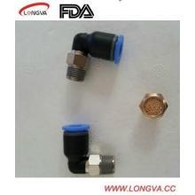 Tipo L Conectores de empuje rápido neumáticos