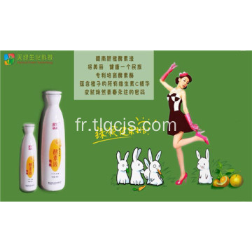 Solution d'enzyme orange bon