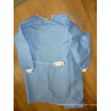 Eo Sterile Non Woven Surgical Gown with Size M 115X150cm (DFG1201)