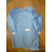 Vestido cirúrgico não tecido estéril de Eo com tamanho M 115X150cm (DFG1201)