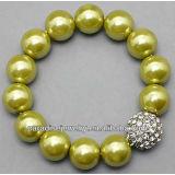 2012 Wholesale high-quality crystal charm beaded Bracelet-14pcs/row-B22037-6