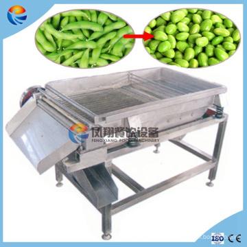 Peladora de cáscara verde del guisante / de la soja / de la goma eléctrica