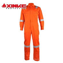 Combinaison imperméable FR 100% coton pour vêtements de travail FRC