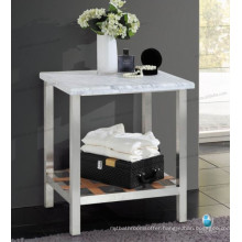 hotel quality 304 stainless steel desk with shelf, Stone Stainless Console