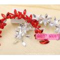 fashion wholesale crystal wedding dress hair ornamnets
