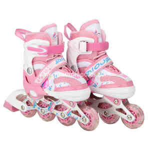 Kids roller Skates Shoes with flash