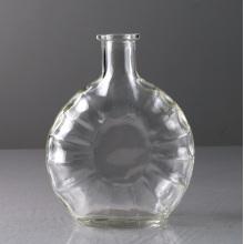 500ml Transparent Glass Whisky Bottle