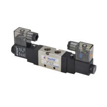 24V AC Magnetventil / Zwei-Punkt-Fünf-Wege- / Aluminiumlegierung Pneumatisches Magnetventil