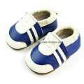 Manual Green Leather Baby Shoes