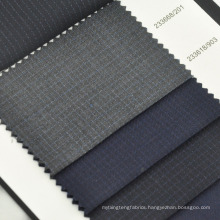 sheep wool silk blended fabric for mens suit anti-static fabric