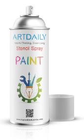 Stencil Spray Paint
