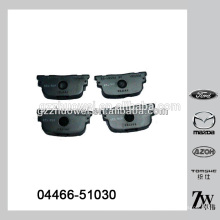 China Wholesale Almohadillas de freno de disco de cerámica para TOYOTA Corolla 04466-51030