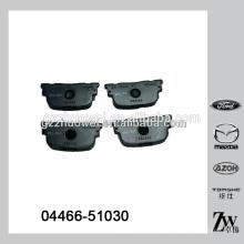 China Wholesale Almofadas de freio de disco de cerâmica para TOYOTA Corolla 04466-51030