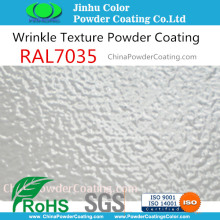 Racking shelf powder coatings for racking