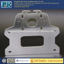 Precisión láser personalizado cnc cepillado placa de acero inoxidable