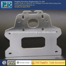 Coupe laser cnc personnalisée de précision en acier inoxydable brossé