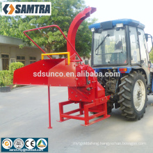 PTO Driven Wood Chipper Tree Branches Chipper