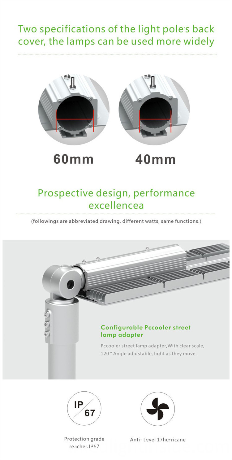 LED Street Light PC Cooler150W