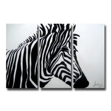 Wholesale Handmade Modern Canvas Zebra Wall Art Oil Paintings